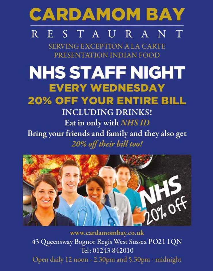 NHS Discount Cardamom Bay